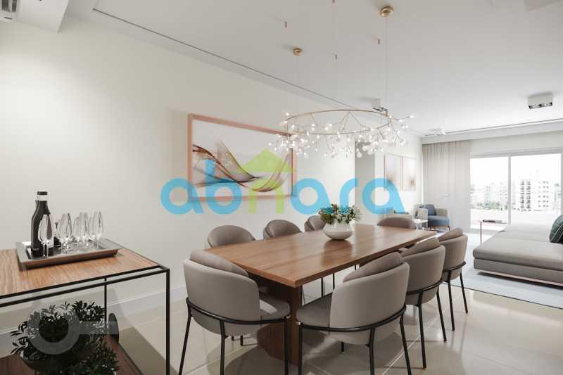 Sala de Jantar - Apartamento À venda em Leblon, com 3 quartos, 153 m² - CPAP30816 - 4