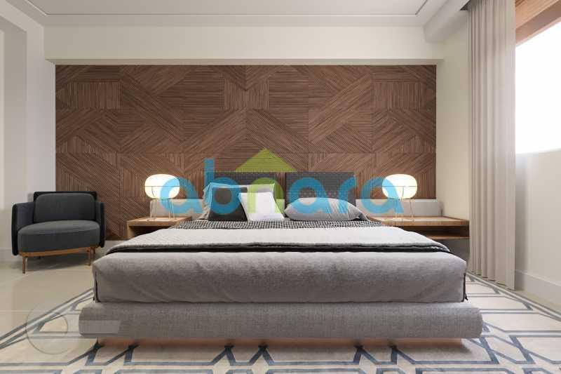 Suíte Master - Apartamento À venda em Leblon, com 3 quartos, 153 m² - CPAP30816 - 7