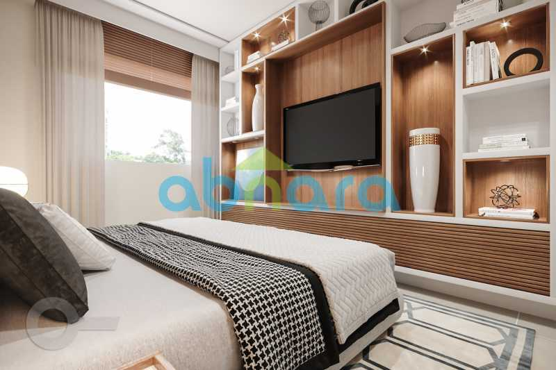 Quarto 1 - Apartamento À venda em Leblon, com 3 quartos, 153 m² - CPAP30816 - 9