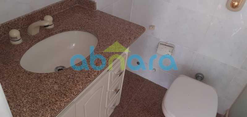 foto 18 - Ótimo apartamento de 92m² com dois quartos, sendo uma suíte, sala ampla, vaga na escritura em rua tranquila da lagoa. - CPAP20533 - 16