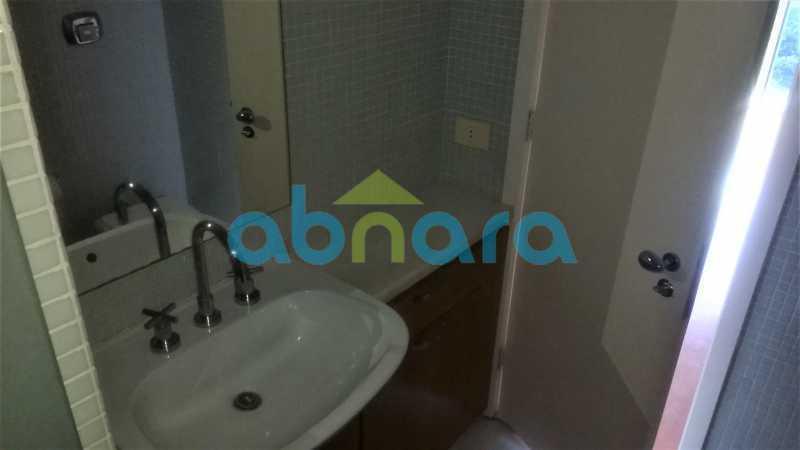 Banheiro - Apartamento, 61M², Locação, Sala Quarto Com Vaga, Gávea - CPAP10322 - 13