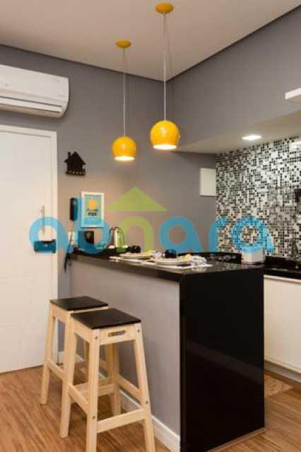 foto 14 - Excelente quarto e sala totalmente reformado em rua tranquila e arborizada de Copacabana, próximo a praia e ao metrô. - CPAP10323 - 9