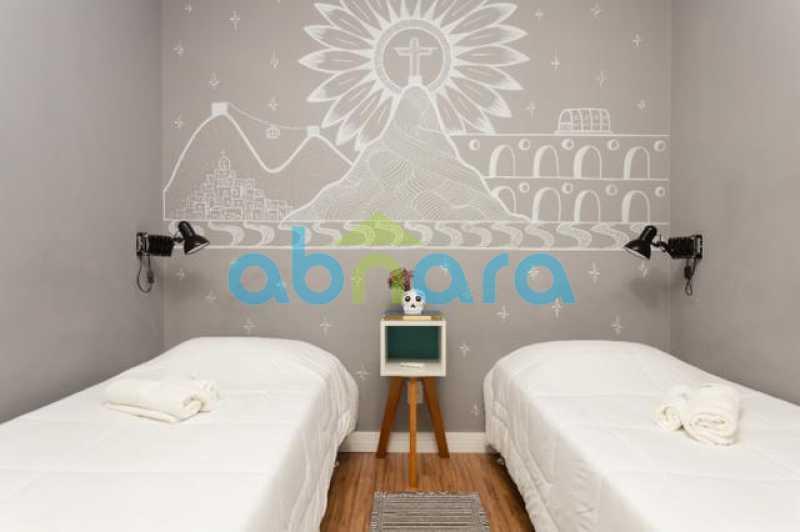 foto 11 - Excelente quarto e sala totalmente reformado em rua tranquila e arborizada de Copacabana, próximo a praia e ao metrô. - CPAP10323 - 16