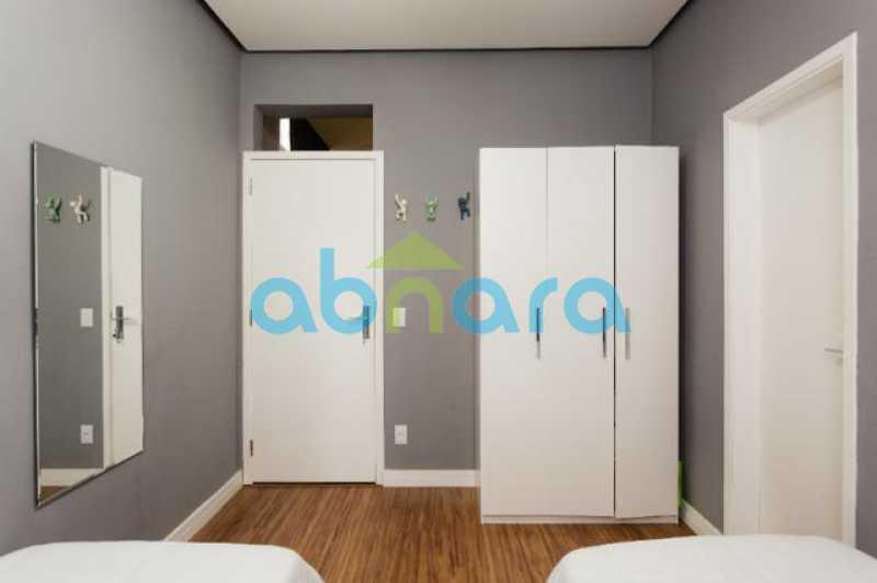 foto 9 - Excelente quarto e sala totalmente reformado em rua tranquila e arborizada de Copacabana, próximo a praia e ao metrô. - CPAP10323 - 17