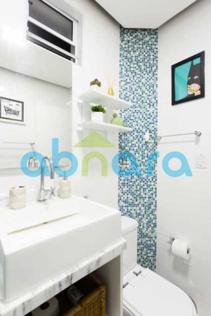 foto 7 - Excelente quarto e sala totalmente reformado em rua tranquila e arborizada de Copacabana, próximo a praia e ao metrô. - CPAP10323 - 18