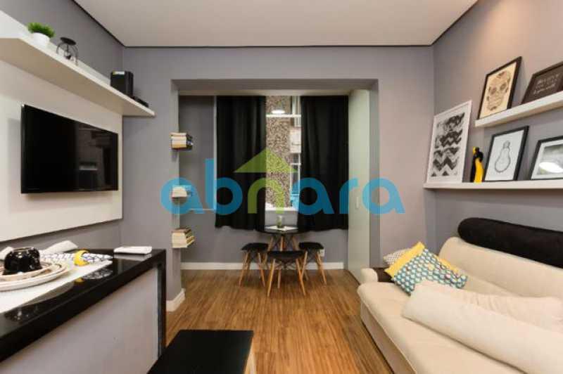 foto 1 - Excelente quarto e sala totalmente reformado em rua tranquila e arborizada de Copacabana, próximo a praia e ao metrô. - CPAP10323 - 3