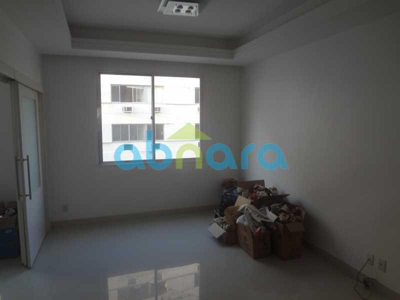 006 - Sala, 2 quartos sendo 1 suite, com vaga no Flamengo. 74 m2. Reformadíssimo, entrar e morar. - CPAP20545 - 1