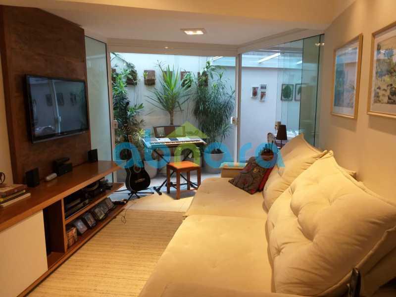foto 4 - Sensacional apartamento de 133 m² na Lagoa com 3 quartos sendo 2 suítes 2 vagas na escritura em um prédio de 2018. - CPAP30864 - 5