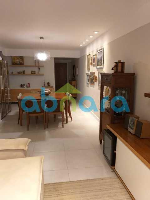 foto 7 - Sensacional apartamento de 133 m² na Lagoa com 3 quartos sendo 2 suítes 2 vagas na escritura em um prédio de 2018. - CPAP30864 - 7