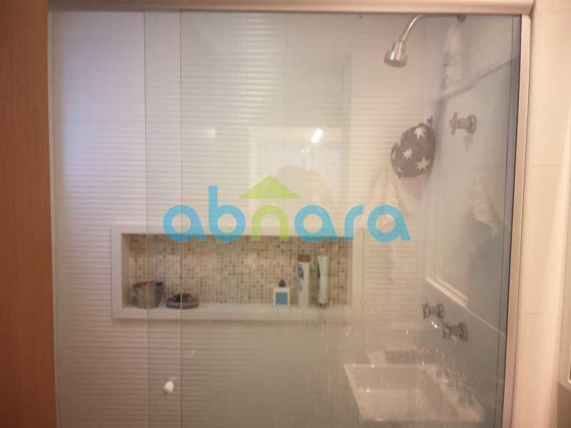 foto 18 - Sensacional apartamento de 133 m² na Lagoa com 3 quartos sendo 2 suítes 2 vagas na escritura em um prédio de 2018. - CPAP30864 - 12