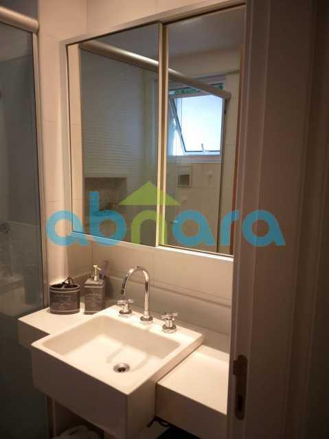 foto 20 - Sensacional apartamento de 133 m² na Lagoa com 3 quartos sendo 2 suítes 2 vagas na escritura em um prédio de 2018. - CPAP30864 - 13