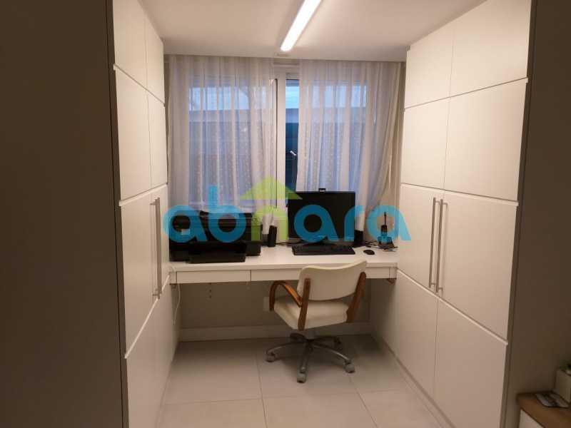 foto 23 - Sensacional apartamento de 133 m² na Lagoa com 3 quartos sendo 2 suítes 2 vagas na escritura em um prédio de 2018. - CPAP30864 - 19