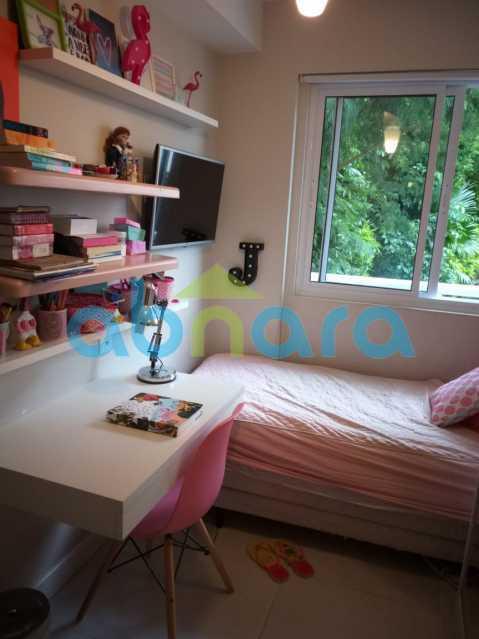 foto 29 - Sensacional apartamento de 133 m² na Lagoa com 3 quartos sendo 2 suítes 2 vagas na escritura em um prédio de 2018. - CPAP30864 - 23