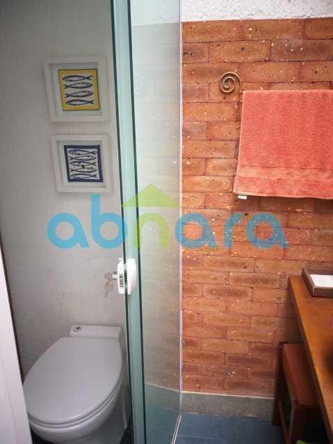 foto 36 - Sensacional apartamento de 133 m² na Lagoa com 3 quartos sendo 2 suítes 2 vagas na escritura em um prédio de 2018. - CPAP30864 - 17