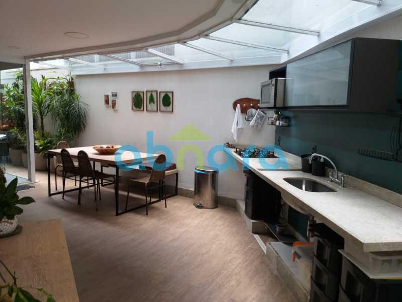 foto 43 - Sensacional apartamento de 133 m² na Lagoa com 3 quartos sendo 2 suítes 2 vagas na escritura em um prédio de 2018. - CPAP30864 - 28