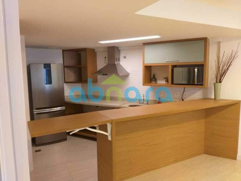 foto 50 - Sensacional apartamento de 133 m² na Lagoa com 3 quartos sendo 2 suítes 2 vagas na escritura em um prédio de 2018. - CPAP30864 - 30