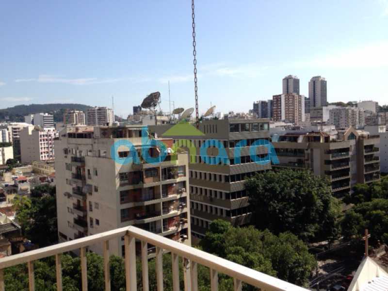 foto 2 - Lindo apartamento em Botafogo de 89m², 2 quartos sendo 1 suíte vaga na escritura, com vista para a mata. - CPAP20553 - 1