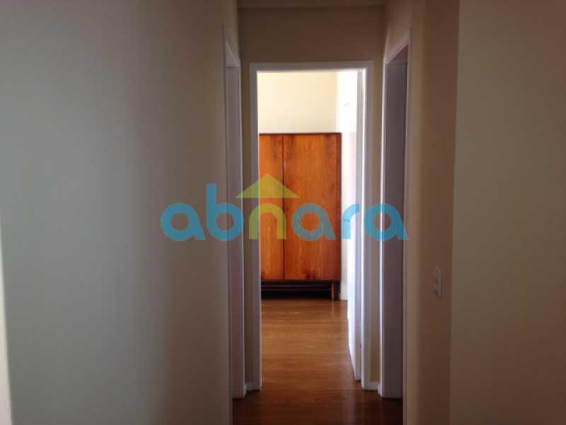 foto 5 - Lindo apartamento em Botafogo de 89m², 2 quartos sendo 1 suíte vaga na escritura, com vista para a mata. - CPAP20553 - 6
