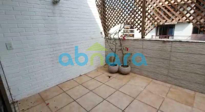 Terraço - Cobertura 1 quarto à venda Gávea, Rio de Janeiro - R$ 1.449.000 - CPCO10008 - 23