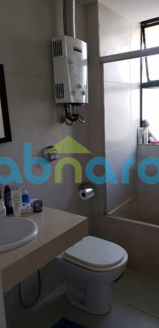 Banheiro Social - Vendo Gávea, 2 Quartos, Varanda, Vaga - CPAP20585 - 7