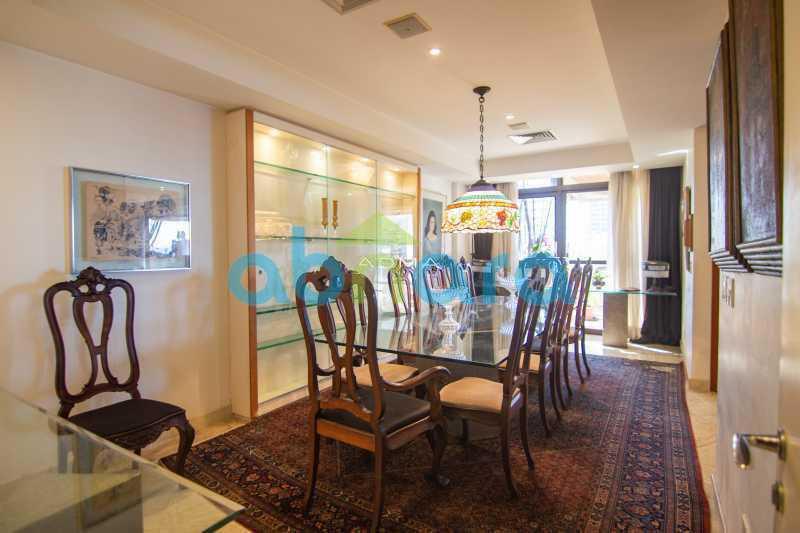 Sala de Jantar - Quadríssima, Vista Mar, 3 Suites, 4 Vagas - CPAP40353 - 11