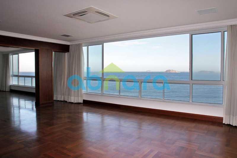 Salão - Venda Cobertura Leblon, 600M², 5stes, 4Vgas - CPCO50019 - 4