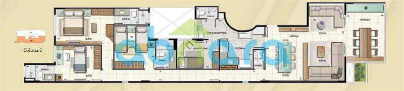 12528_g - A Venda Botafogo, 132M², Varandão, 3cSuites, 2 Vagas - CPAP30952 - 18
