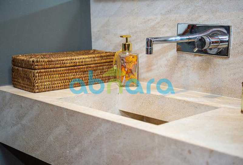 Lavabo - Cobertura a Venda no Leblon, 350M², 3 Suítes, Piscina, 4 Vagas - CPAP40381 - 7