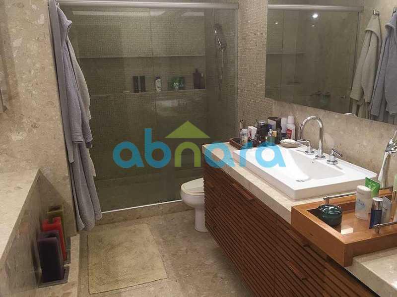 Banheiro Suite Master - Cobertura a Venda no Leblon, 350M², 3 Suítes, Piscina, 4 Vagas - CPAP40381 - 13