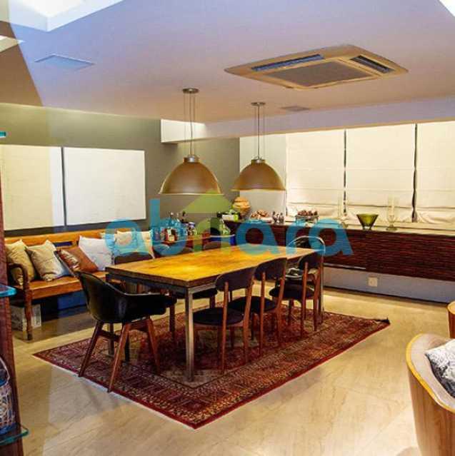 Sala de Jantar - Cobertura a Venda no Leblon, 350M², 3 Suítes, Piscina, 4 Vagas - CPAP40381 - 3
