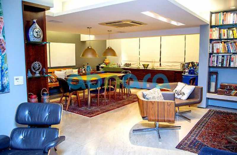 Salão - Cobertura a Venda no Leblon, 350M², 3 Suítes, Piscina, 4 Vagas - CPAP40381 - 6