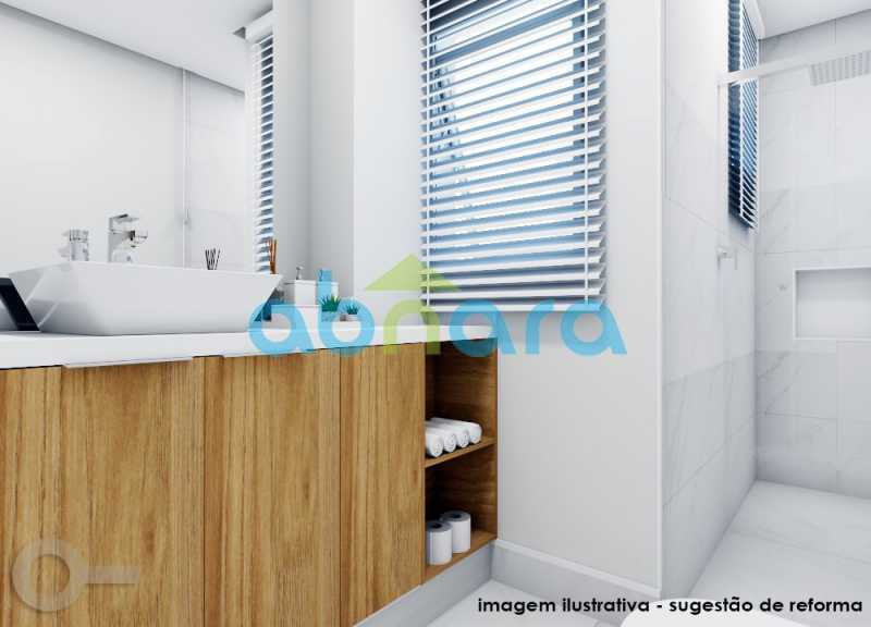 Banheiro - Ipanema, Posto 10, Amplo, 190M², Quadra da Praia, 3 Qtos, 2 Vagas - CPAP30977 - 7