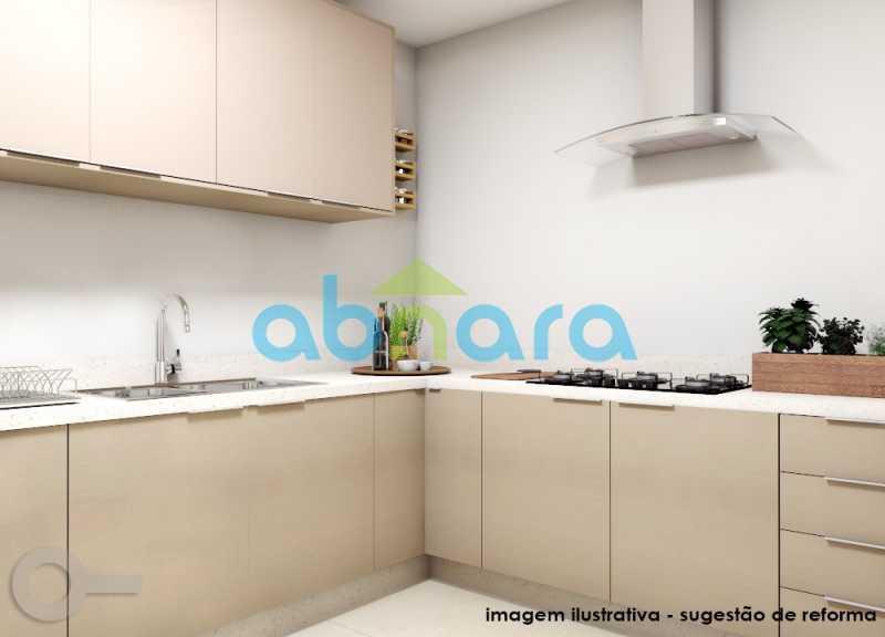 Cozinha - Ipanema, Posto 10, Amplo, 190M², Quadra da Praia, 3 Qtos, 2 Vagas - CPAP30977 - 9