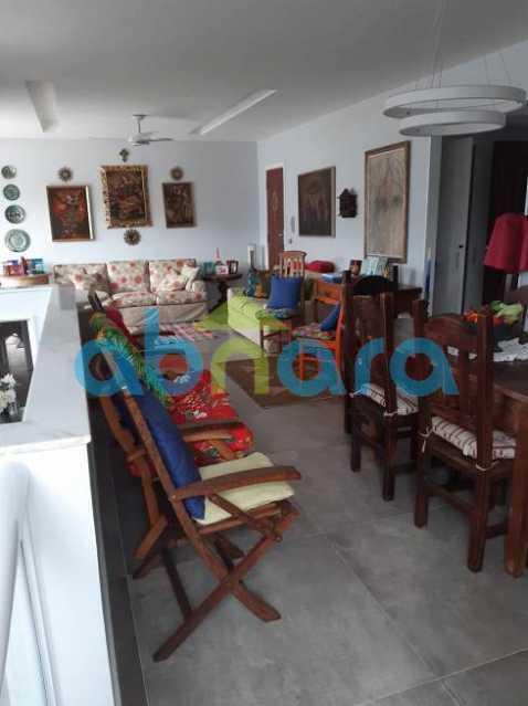 Salão - A Venda no Leblon, Cobertura, 283M², 3 Vagas - CPCO30072 - 7