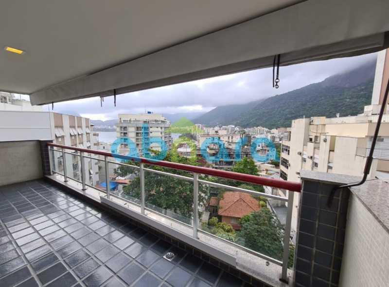 1. - Apartamento 2 quartos à venda Lagoa, Rio de Janeiro - R$ 1.480.000 - CPAP20639 - 1