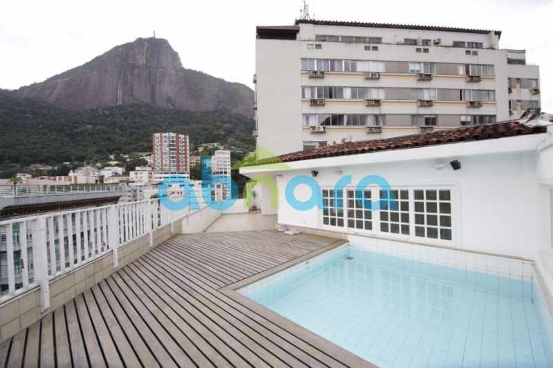 1 - Cobertura Duplex - 455m² no IPTU - Com Vista para Lagoa e Cristo. - CPCO40086 - 1