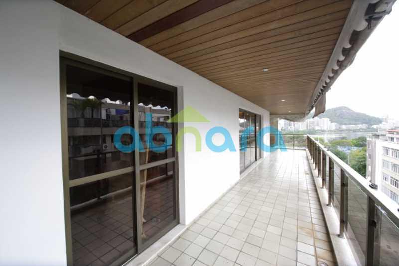 11 - Cobertura Duplex - 455m² no IPTU - Com Vista para Lagoa e Cristo. - CPCO40086 - 12