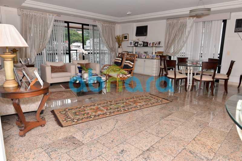 1 - Cobertura 4 quartos à venda Lagoa, Rio de Janeiro - R$ 6.899.000 - CPCO40090 - 1