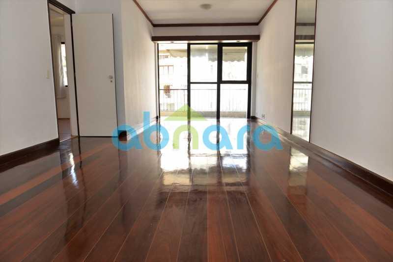 1 - suíte, Gávea, 3 quartos, sala ampla, vagas escrituradas - CPAP31054 - 3