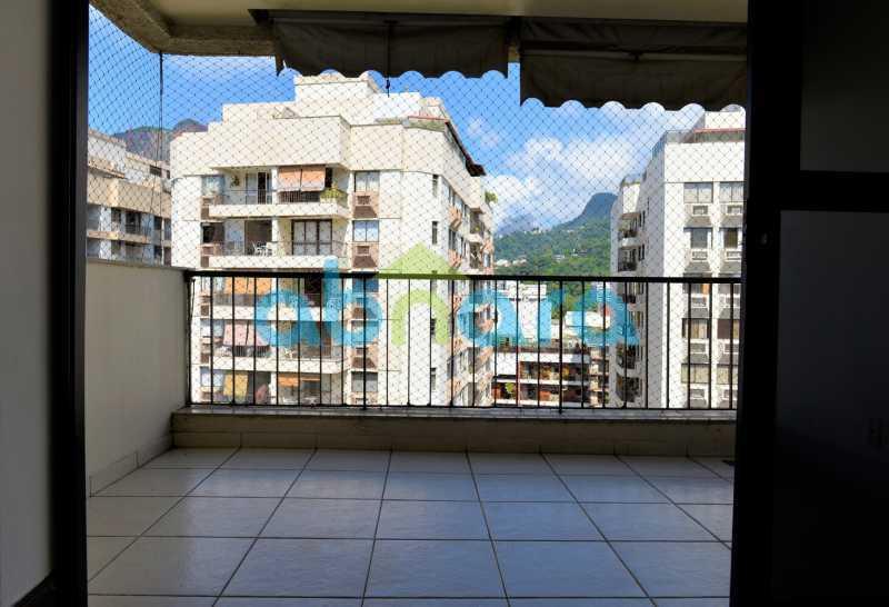 15 - suíte, Gávea, 3 quartos, sala ampla, vagas escrituradas - CPAP31054 - 17