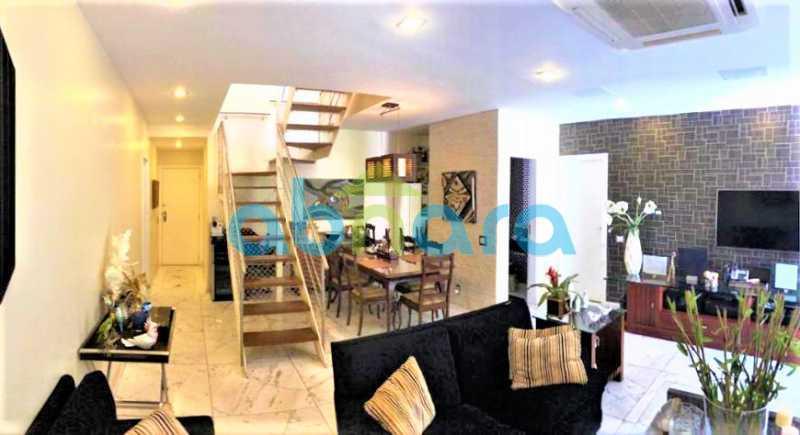 55b53cf25efd4b425666d00b60ef72 - Cobertura 3 quartos à venda Lagoa, Rio de Janeiro - R$ 3.600.000 - CPCO30082 - 3