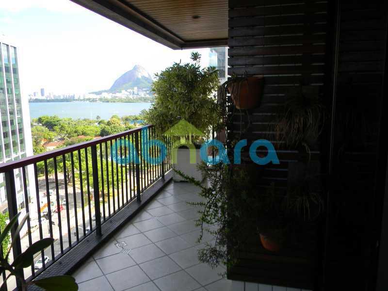 5 - cobertura duplex, humaitá, piscina, área gourmet - CPCO30084 - 6