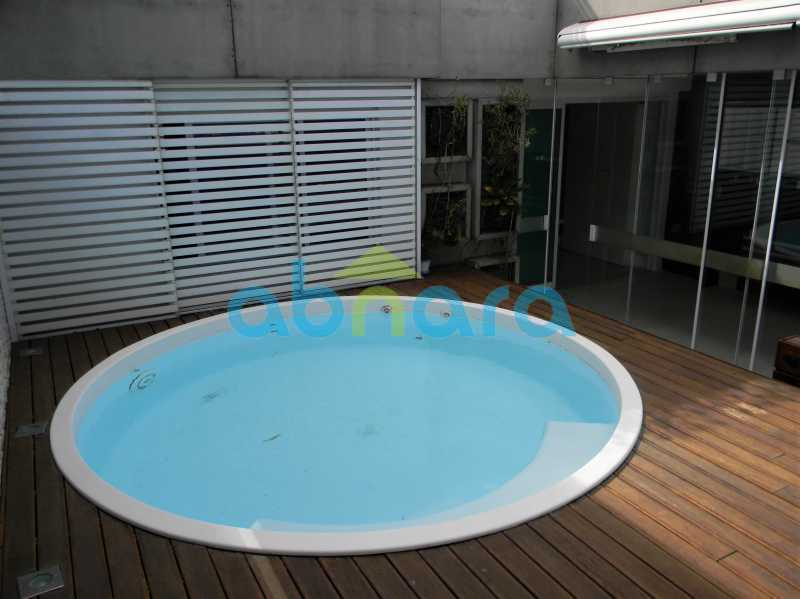 29 - cobertura duplex, humaitá, piscina, área gourmet - CPCO30084 - 30