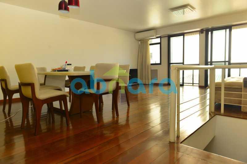 1 - duplex, suíte, 2 vagas na escritura, salão em 2 ambientes, 4 quartos - CPCO40106 - 1
