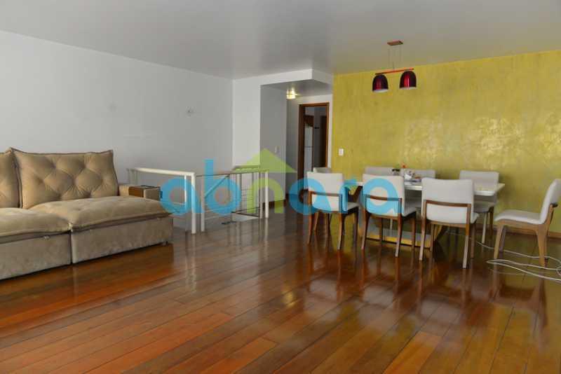 3 - duplex, suíte, 2 vagas na escritura, salão em 2 ambientes, 4 quartos - CPCO40106 - 4