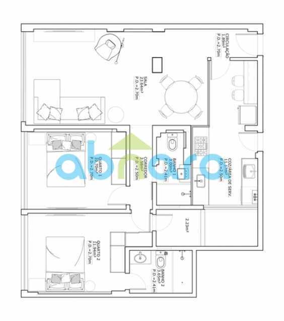 11 - Apartamento 2 quartos à venda Botafogo, Rio de Janeiro - R$ 790.000 - CPAP20693 - 12