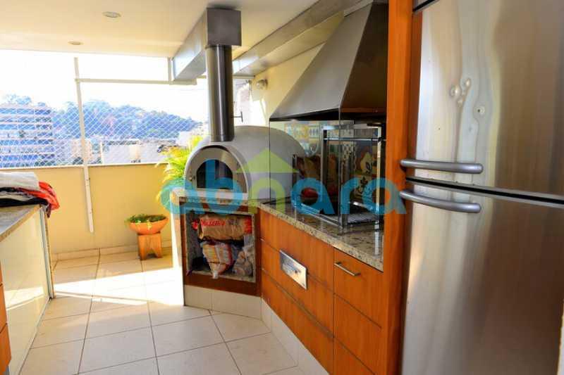 21 - cobertura, duplex, infraestrutura completa, Reformada, Botafogo, melhor  localização, - CPCO30101 - 22