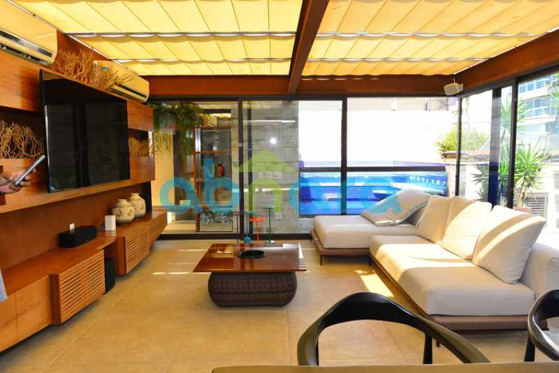 1 - luxo, luxuosa, cobertura Duplex, 1 por andar, Alto padrão, Leblon - CPCO40117 - 1