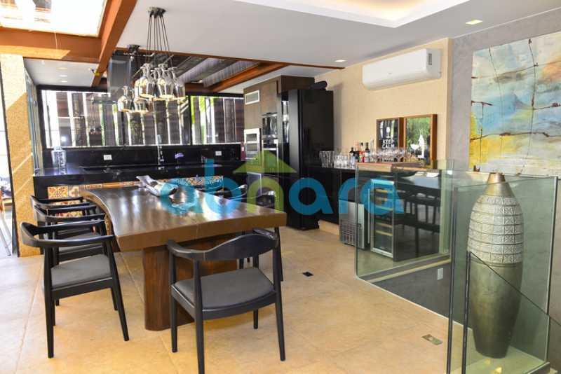 2 - luxo, luxuosa, cobertura Duplex, 1 por andar, Alto padrão, Leblon - CPCO40117 - 4