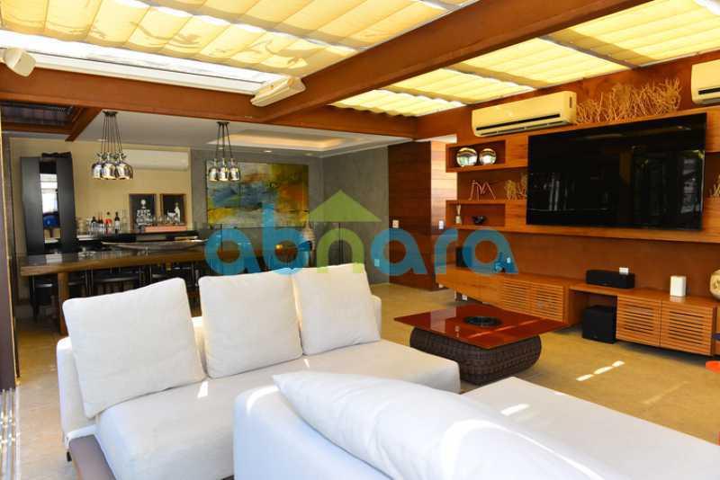 3 - luxo, luxuosa, cobertura Duplex, 1 por andar, Alto padrão, Leblon - CPCO40117 - 5